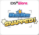 WarioWare: Snapped! Nintendo DSi Front Cover