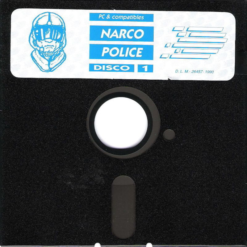 "Narco Police PC Booter Media 5.25"" Disk (1/2)"
