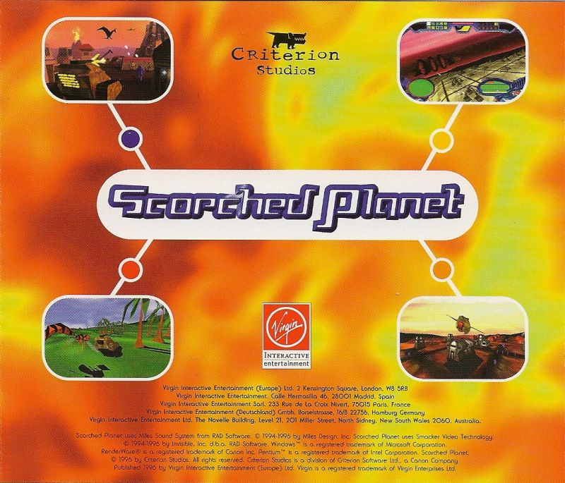 Scorched Planet Windows Other Jewel Case - Back