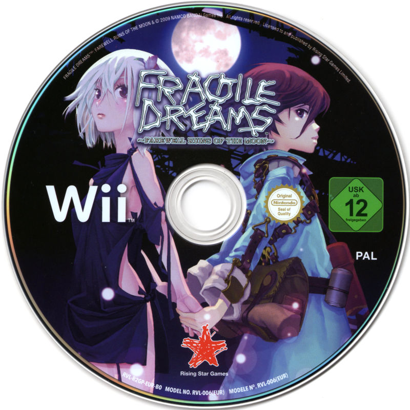 Fragile Dreams: Farewell Ruins of the Moon Wii Media