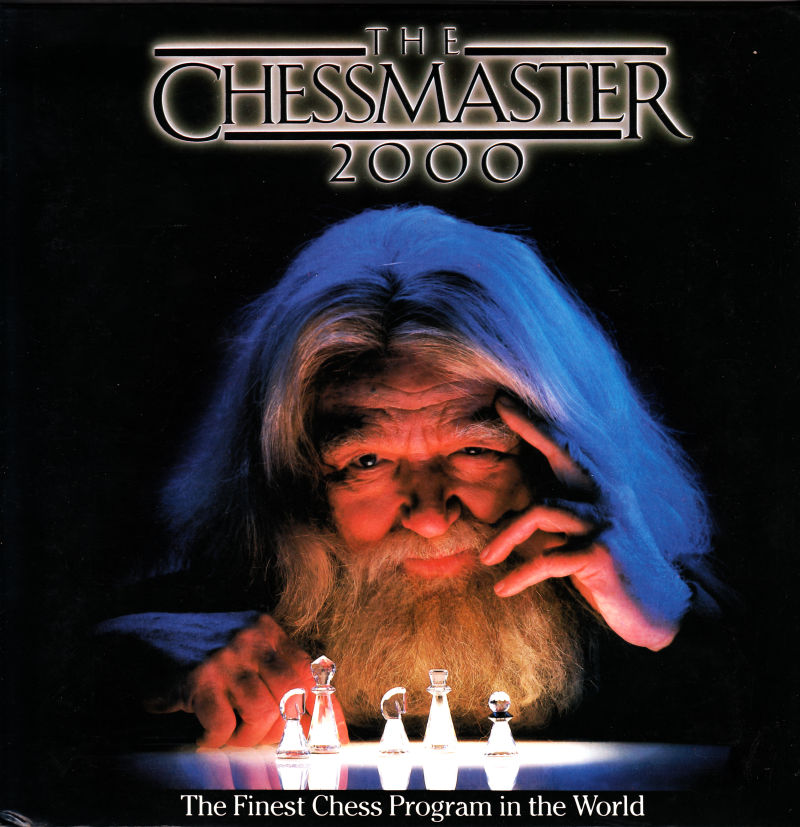 The Chessmaster 2000 Apple II Front Cover