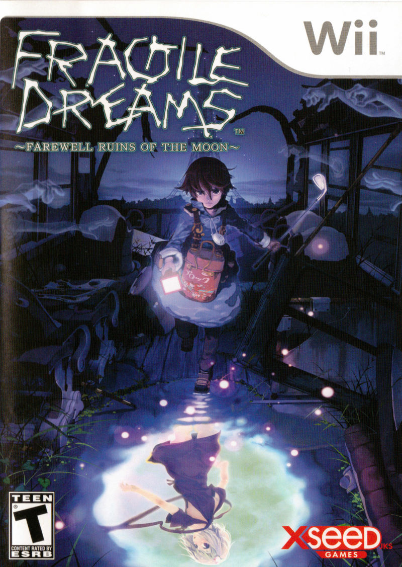 Fragile Dreams: Farewell Ruins of the Moon Wii Front Cover