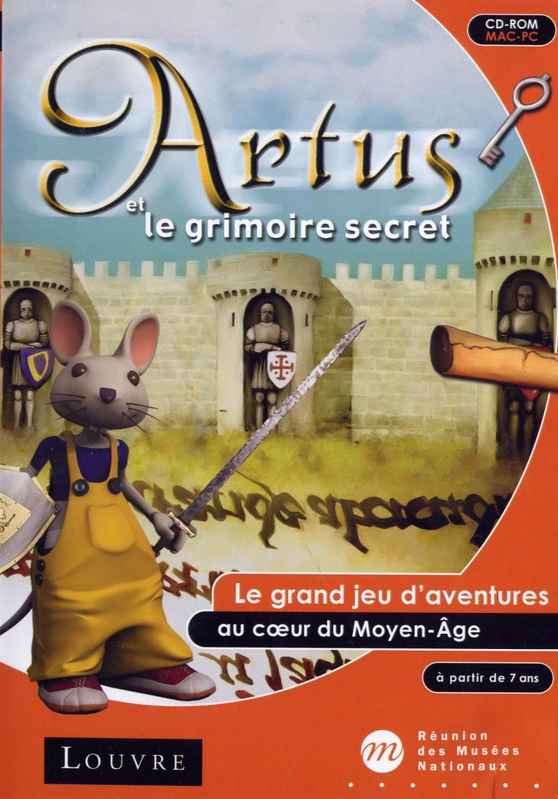 Artus et le grimoire secret Macintosh Front Cover