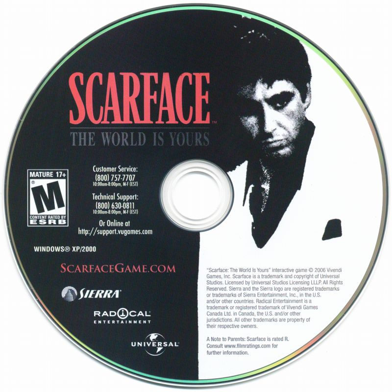 Scarface: The World Is Yours Windows Media
