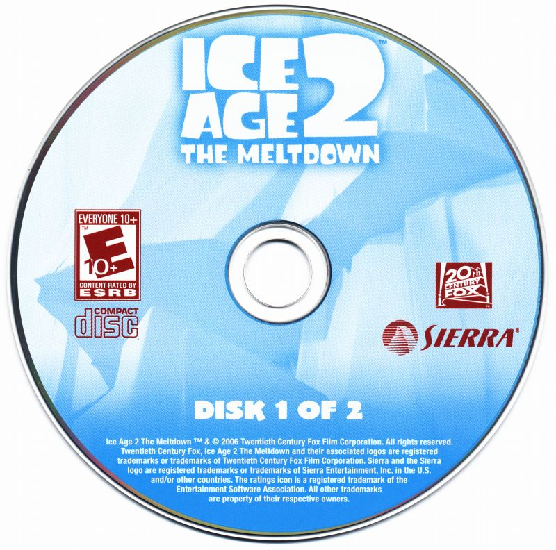 Ice Age 2: The Meltdown Windows Media Disc 1/2