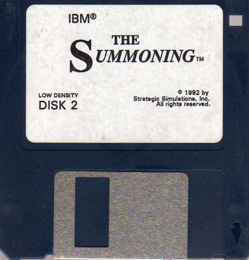 The Summoning DOS Media Disk 2