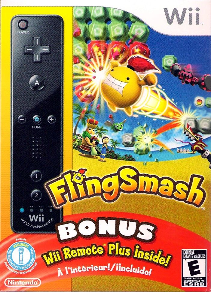 FlingSmash Wii Front Cover