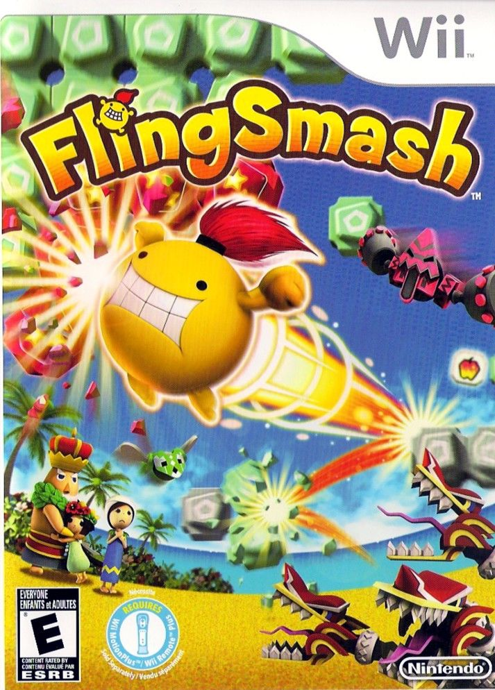 FlingSmash Wii Other Keep Case - Front