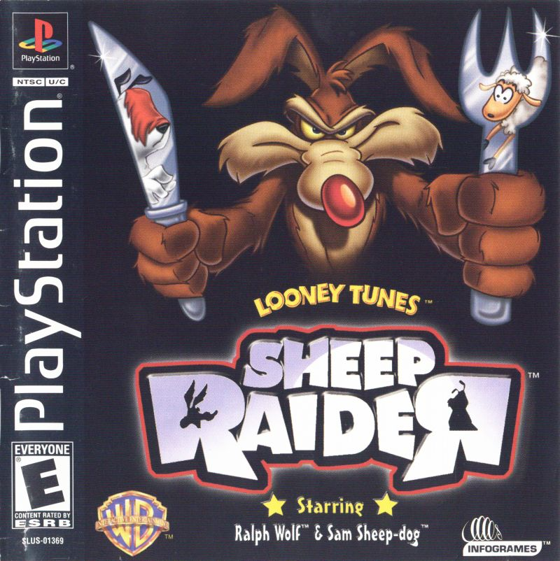 Looney Tunes: Sheep Raider PlayStation Front Cover