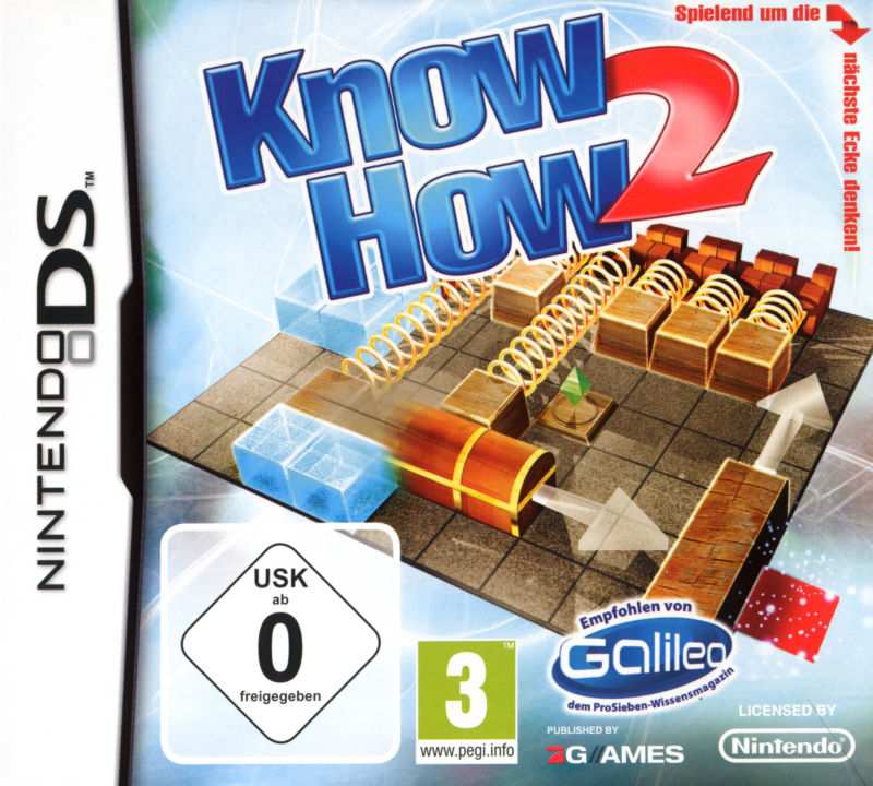 Know How 2: Think and Play outside the box! Nintendo DS Front Cover