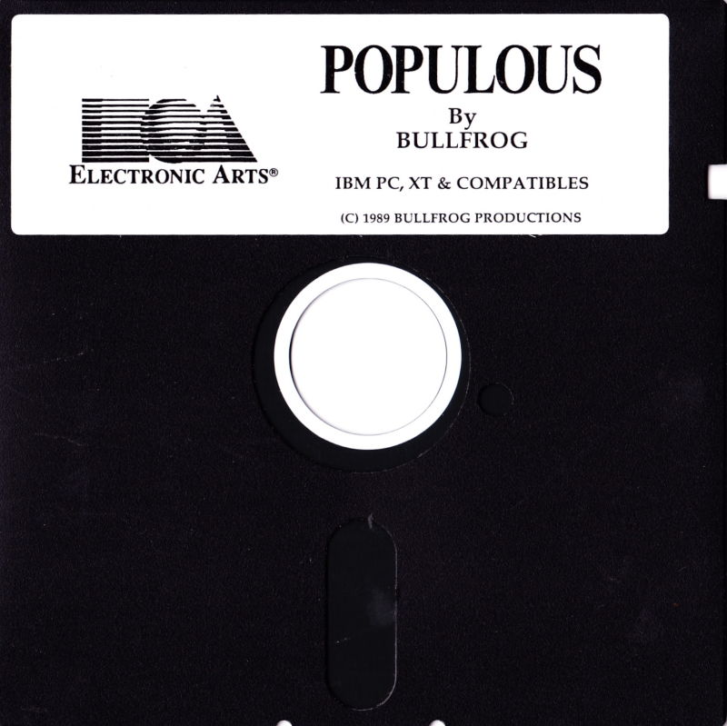 SimCity & Populous DOS Media Populous