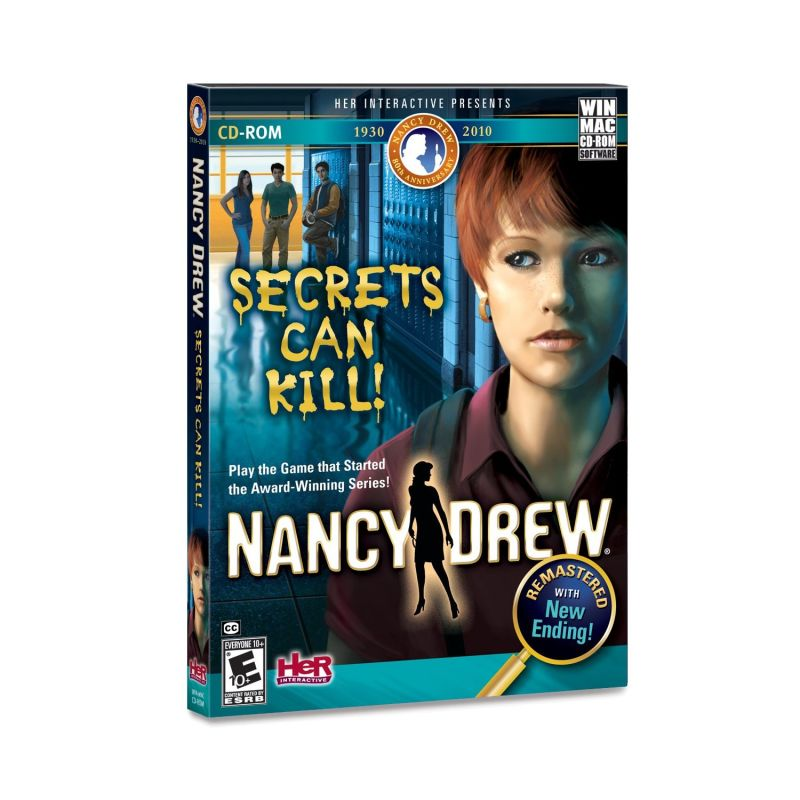 Nancy Drew: Secrets Can Kill (Remastered) Macintosh Front Cover