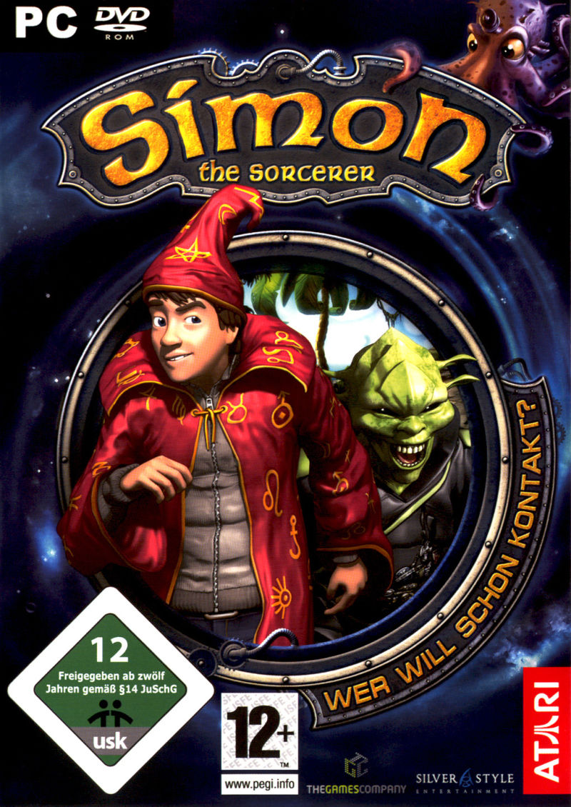 Simon the Sorcerer: Who'd Even Want Contact?! Windows Front Cover