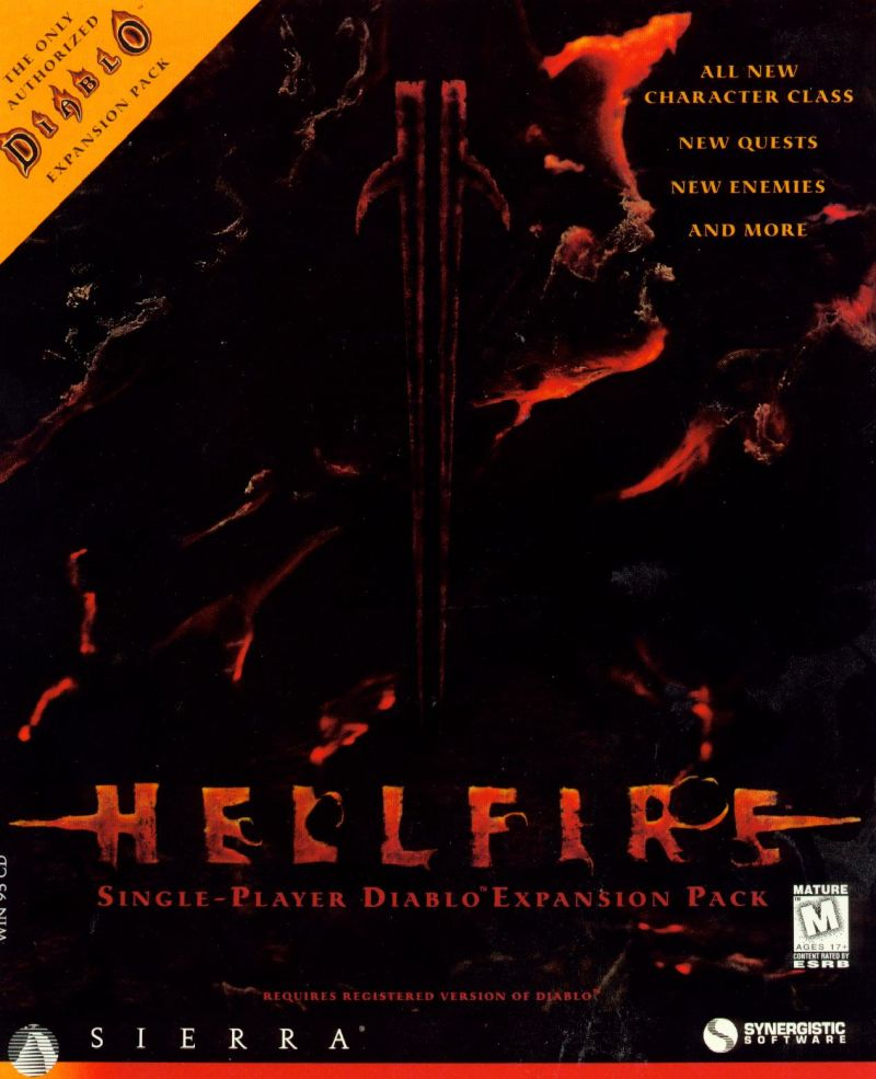 Hellfire Windows Front Cover
