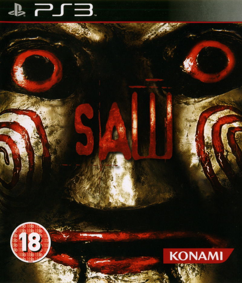 Saw (2009) PlayStation 3 box cover art - MobyGames