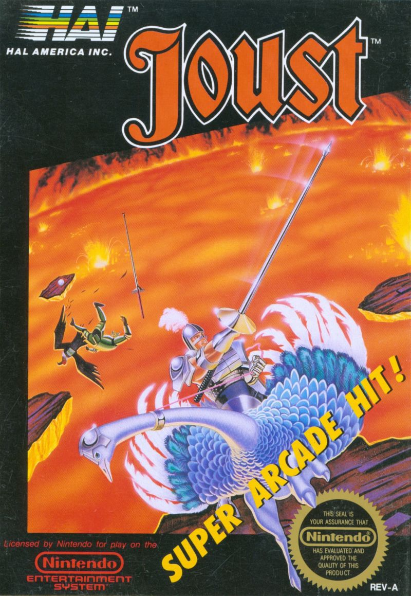 Joust for NES (1987) - MobyGames