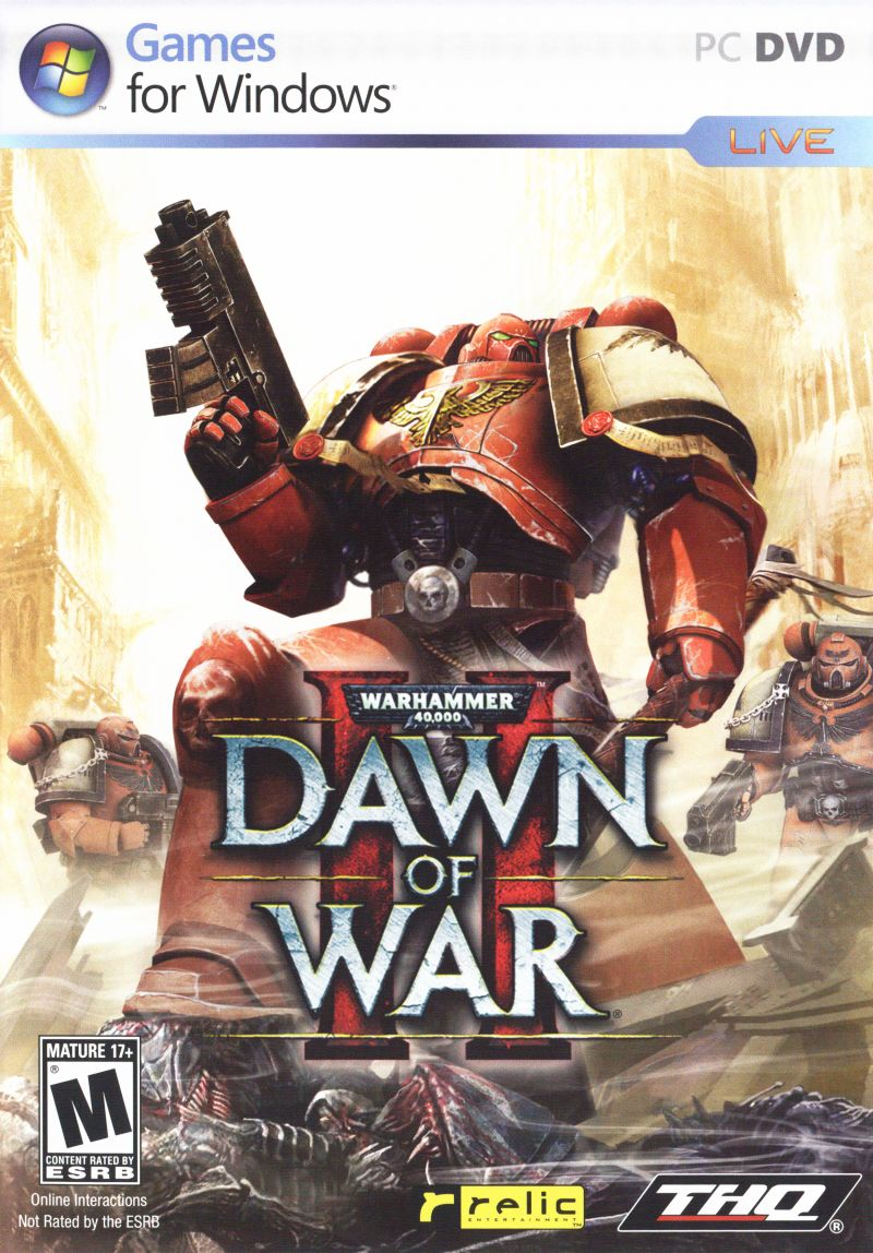 Warhammer 40,000: Dawn of War II Windows Front Cover