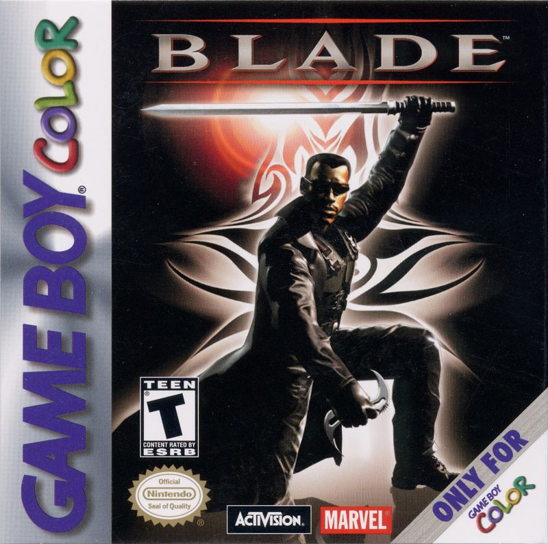 Blade Game Boy Color Front Cover