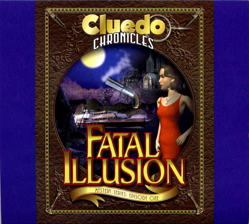 Clue Chronicles: Fatal Illusion Windows Other Disc Holder Sleeve - Front