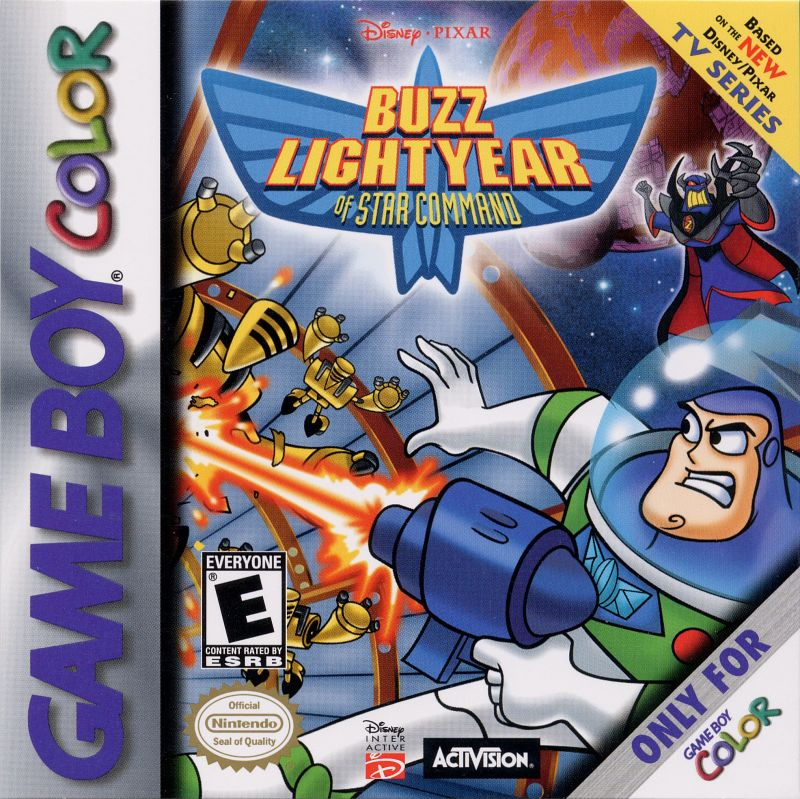 Disney Pixar Buzz Lightyear Of Star Command For Game Boy