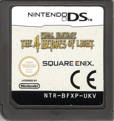 Final Fantasy: The 4 Heroes of Light Nintendo DS Media
