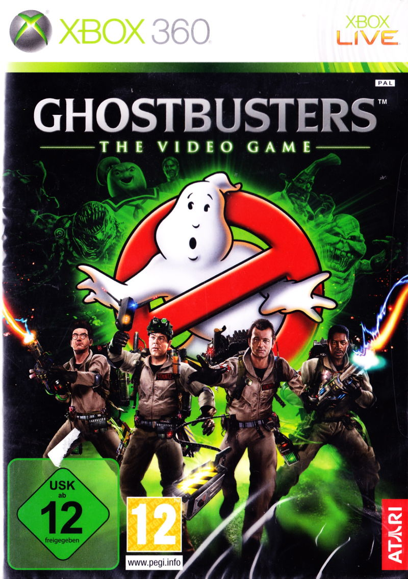 Book Cover Pictures Xbox : Ghostbusters the video game playstation box
