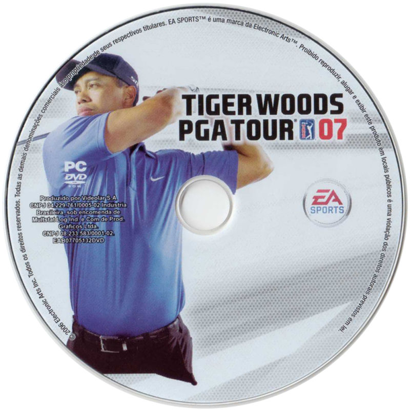 Tiger Woods PGA Tour 07 Windows Media