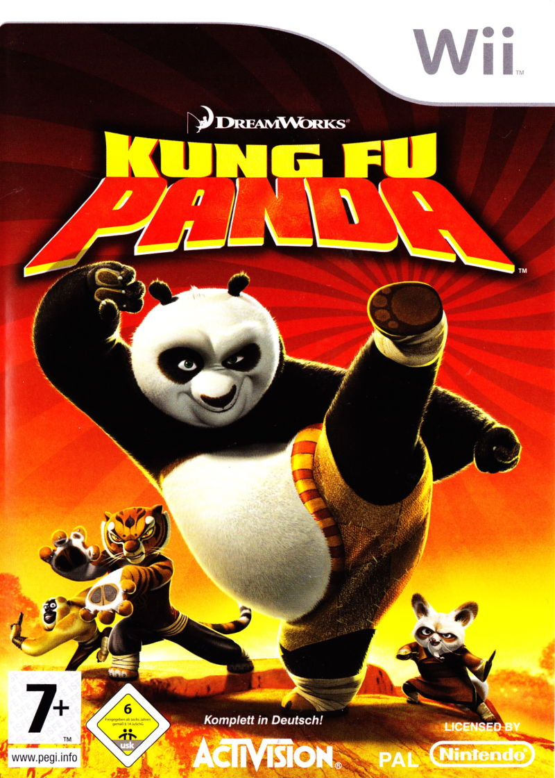 Kung Fu Panda Wii Front Cover
