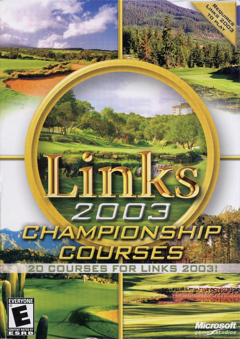 Links 2003: Championship Courses Windows Front Cover