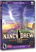 Nancy Drew: Trail of the Twister Macintosh Front Cover