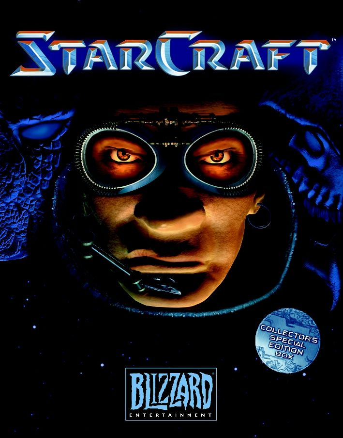 StarCraft Windows Front Cover