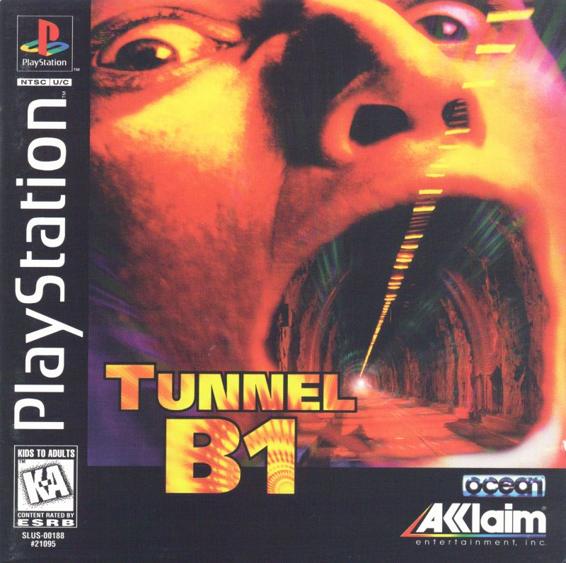 Tunnel B1 PlayStation Front Cover