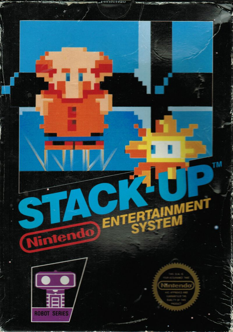 Stack-Up NES Front Cover