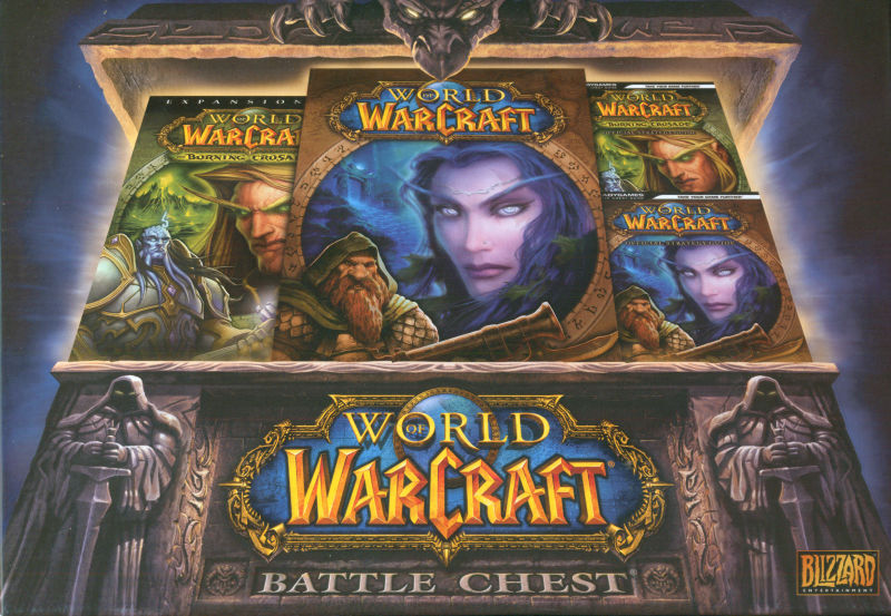 World of Warcraft: Battle Chest Macintosh Front Cover