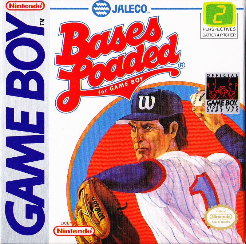 Bases Loaded Game Boy Front Cover