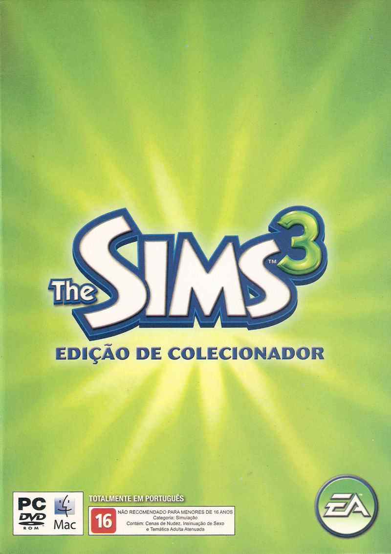 The Sims 3 (Collector's Edition) Macintosh Front Cover