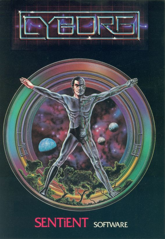 Cyborg Apple II Front Cover