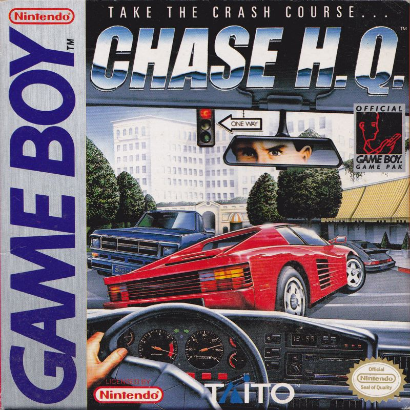 Image result for Chase HQ Game Boy