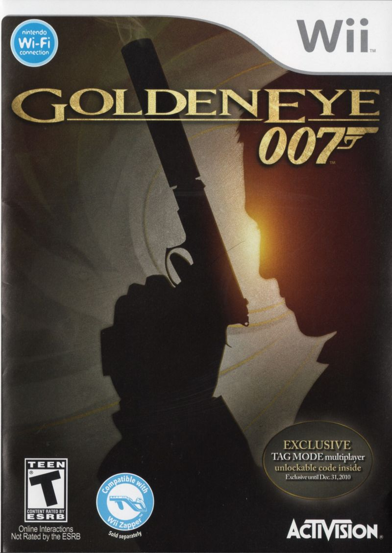 GoldenEye 007 Wii Front Cover