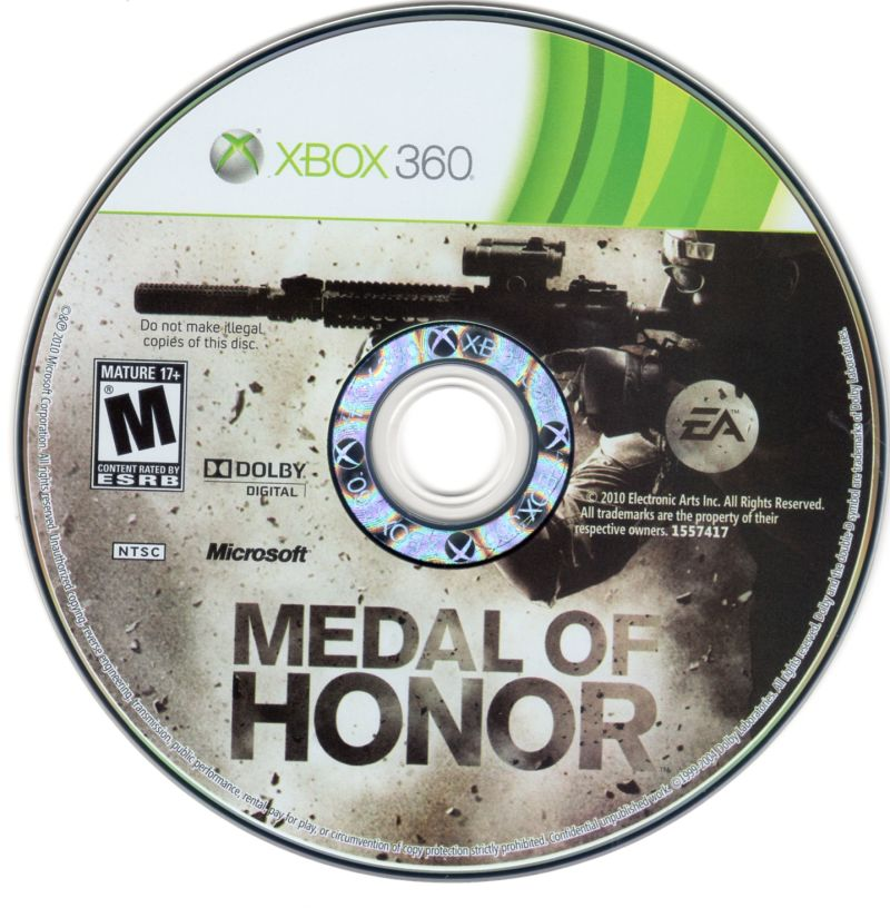 Medal of Honor Xbox 360 Media
