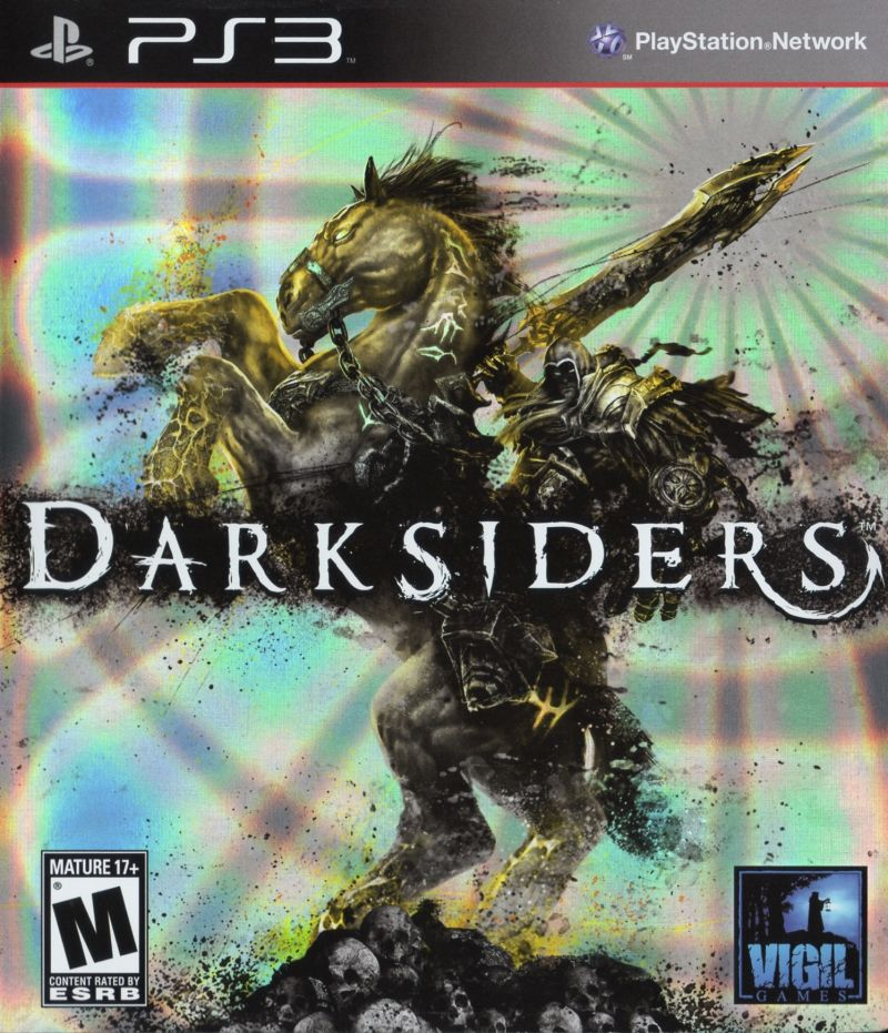 Darksiders PlayStation 3 Front Cover