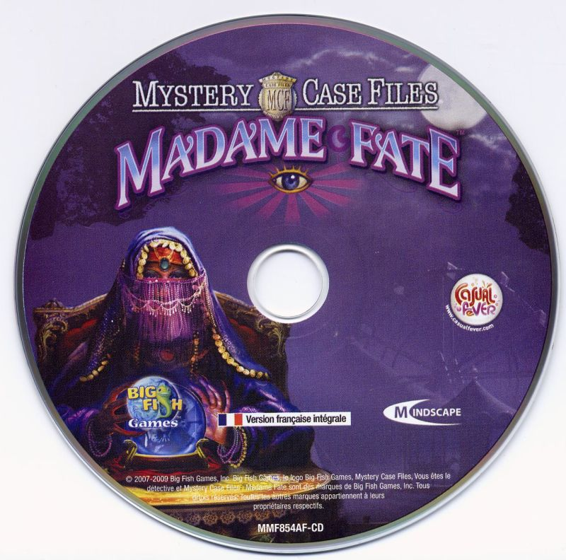 Mystery Case Files: Madame Fate Windows Media