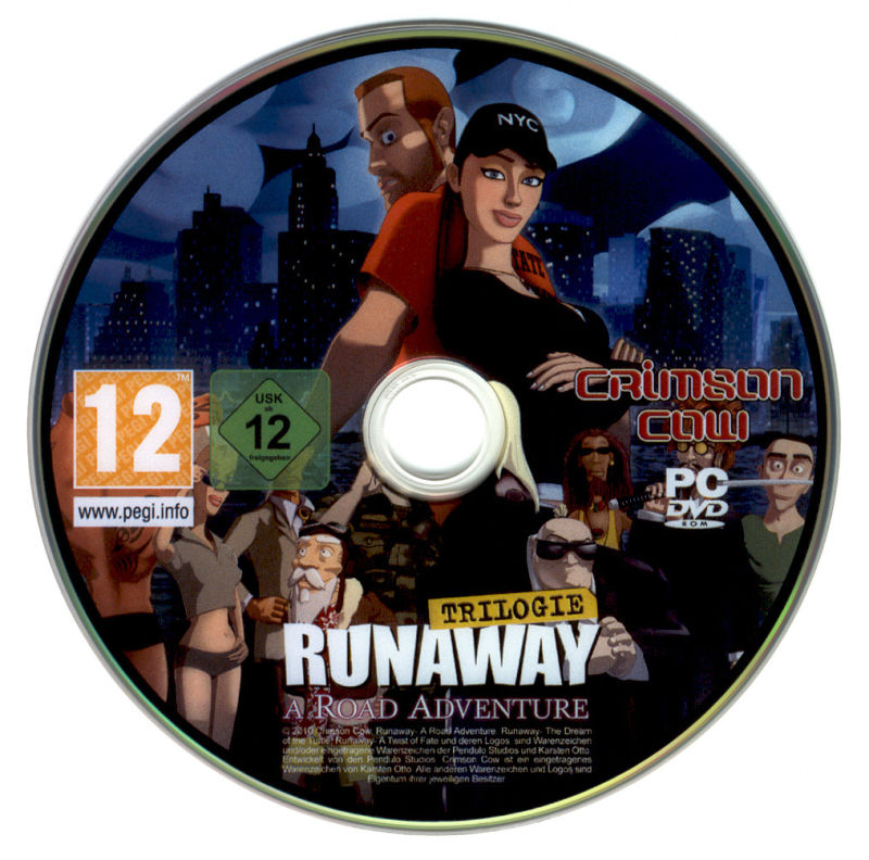 Runaway Trilogy Windows Media Disc 1 - A Road Adventure