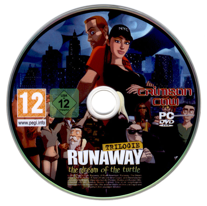 Runaway Trilogy Windows Media Disc 2 - The Dream of the Turtle