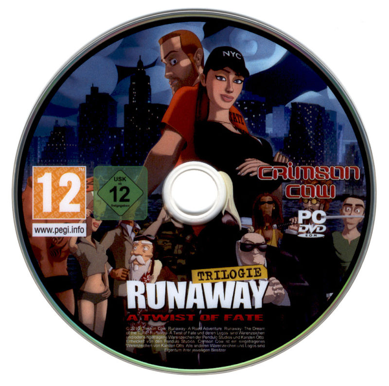 Runaway Trilogy Windows Media Disc 3 - A Twist of Fate