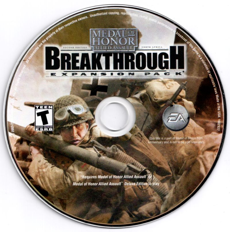 Medal of Honor: 10th Anniversary Windows Media Breakthrough