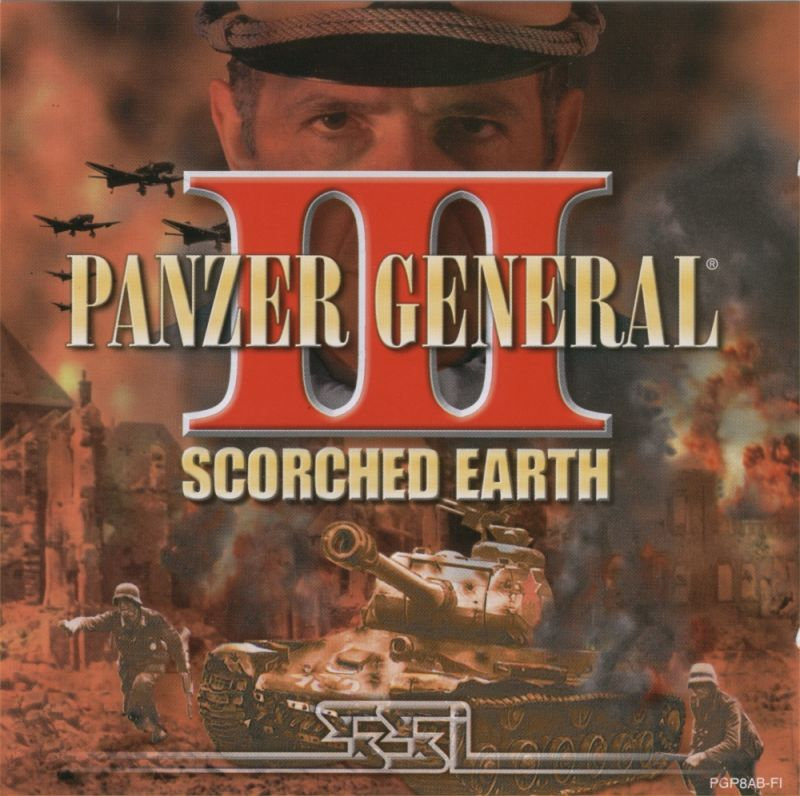 Panzer General III: Scorched Earth Windows Other Jewel Case Front