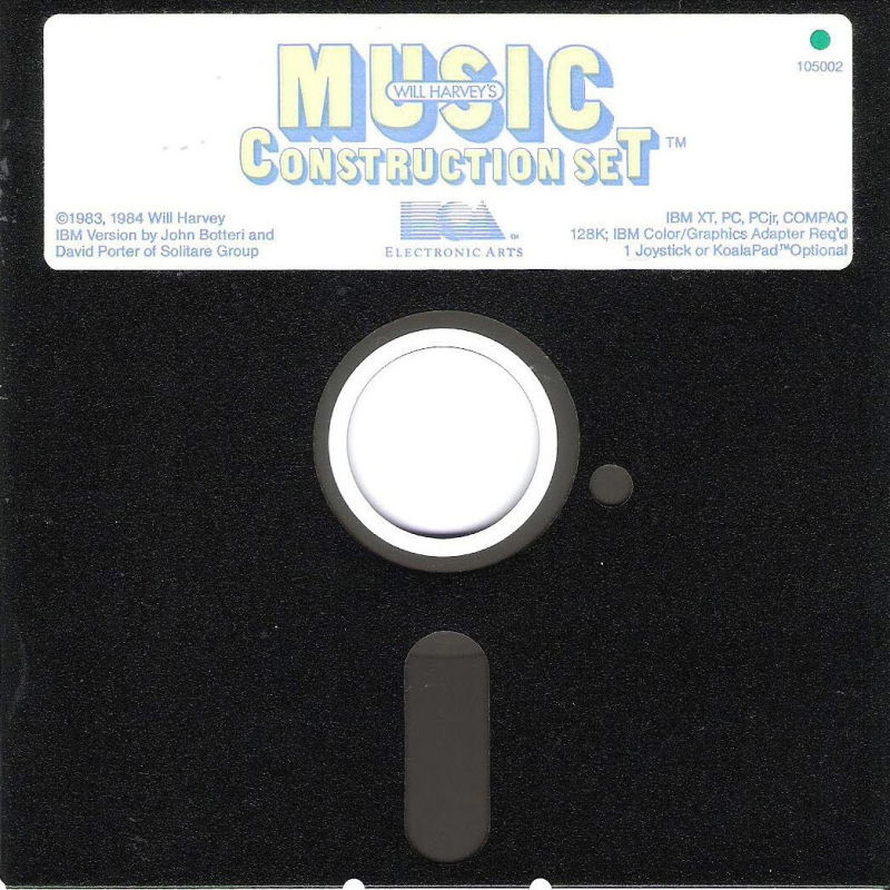 Will Harvey's Music Construction Set PC Booter Media