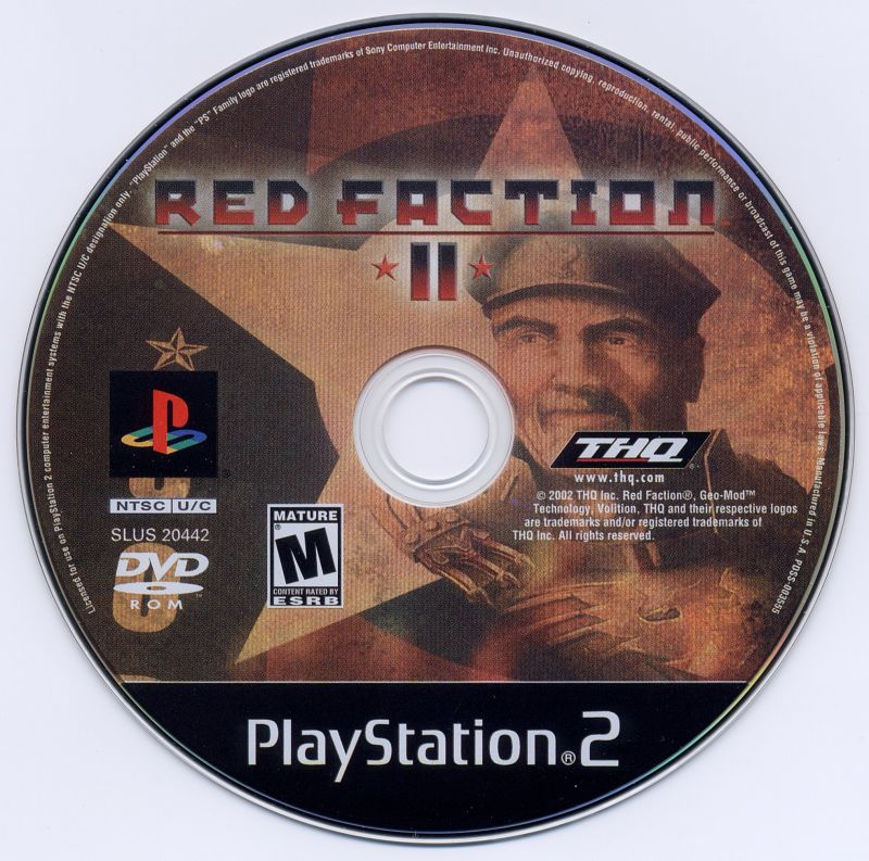 Red Faction II PlayStation 2 Media