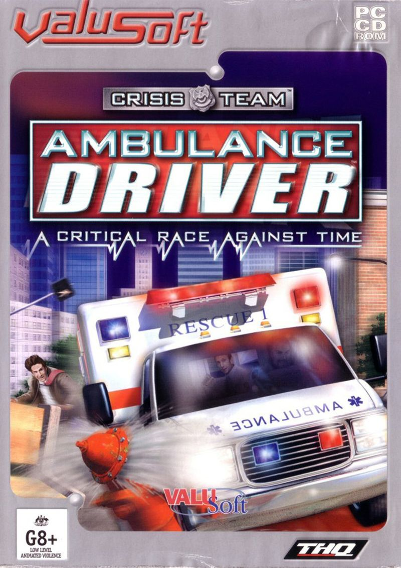 crisis team ambulance driver windows front cover